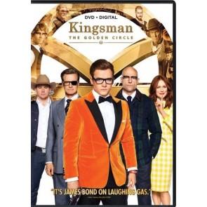 KINGSMAN: O ΧΡΥΣΟΣ ΚΥΚΛΟΣ DVD/KINGSMAN: THE GOLDEN CIRCLE DVD