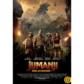 JUMANJI: ΚΑΛΩΣΗΡΘΑΤΕ ΣΤΗ ΖΟΥΓΚΛΑ 3D (3DBD+2DBD)/JUMANJI: WELCOME TO THE JUNGLE 3D (3DBD+2DBD)