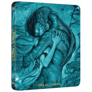 Η ΜΟΡΦΗ ΤΟΥ ΝΕΡΟΥ (STEELBOOK) BD/THE SHAPE OF WATER (STEELBOOK) BD
