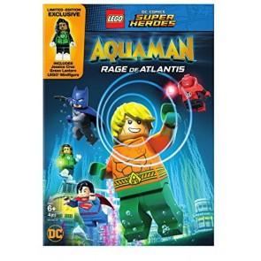 LEGO AQUAMAN: Η ΟΡΓΗ ΤΗΣ ΑΤΛΑΝΤΙΔΑΣ DVD/LEGO AQUAMAN: RAGE OF ATLANTIS DVD