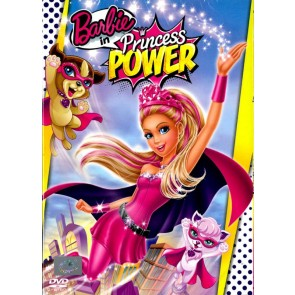BARBIE Η ΣΟΥΠΕΡ ΠΡΙΓΚΙΠΙΣΣΑ DVD/BARBIE IN PRINCESS POWER DVD