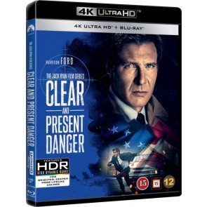4K UHD ΑΜΕΣΟΣ ΚΙΝΔΥΝΟΣ BD/4K UHD CLEAR AND PRESENT DANGER BD