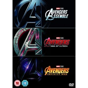 TRIPLE DVD AVENGERS TRILOGY (3 DVD)