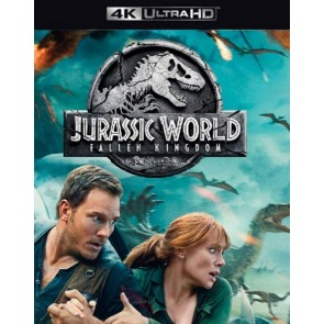JURASSIC WORLD: ΤΟ ΒΑΣΙΛΕΙΟ ΕΠΕΣΕ 4K/JURASSIC WORLD : FALLEN KINGDOM 4K