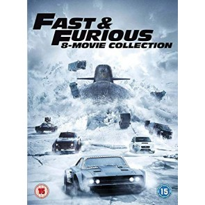 FAST AND FURIOUS COLLECTION 1-8 (DVD)