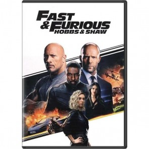 FAST &  FURIOUS PRESENTS: HOBBS & SHAW  DVD