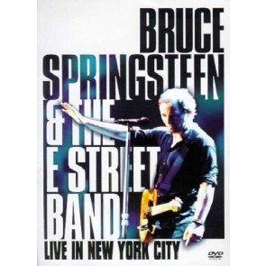 LIVE IN NEW YORK CITY  dvd in digipack cd case