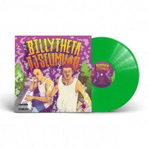 BILLY THETA X DJ SCUMVAG LP 12'' GREEN