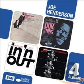 4CD BOXSET LTD JOE HENDERSON