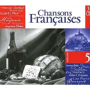 CHANSON FRANCAIS 5-3CD