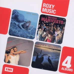 4CD BOXSET LTD ROXY MUSIC