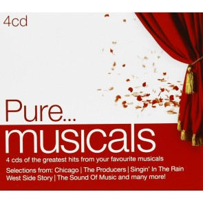 PURE… MUSICALS  (4 CD)
