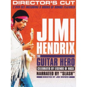 JIMI HENDRIX:THE GUITAR HERO (BLU RAY)