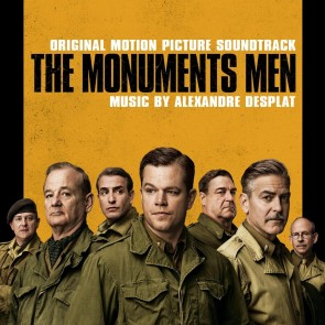 MONUMENTS MEN OST (CD)