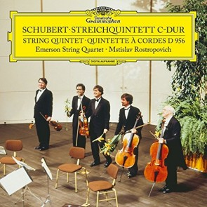 SCHUBERT: STRING QUINTET IN C MAJOR, D.956 LP