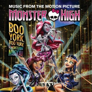 MONSTER HIGH:BOO YORK, BOO YORK CD