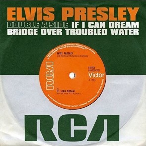 IF I CAN DREAM/BRIDGE OVER TROUBLED WATER (7inch Vinyl Single)
