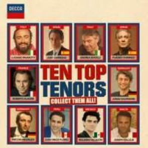 TEN TOP TENORS 2CD