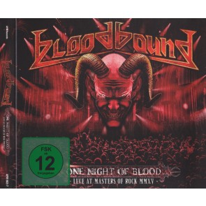 ONE NIGHT OF BLOOD (LIVE AT MASTERS OF ROCK MMXV) DVD+CD