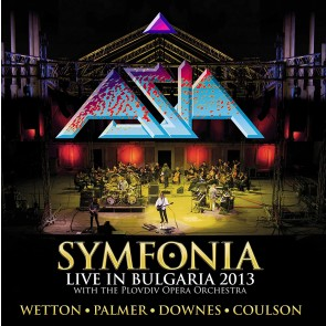 SYMPHONIA - LIVE IN BULGARIA - WITH THE PLOVDIV OPERA ORCHESTRA CD+DVD
