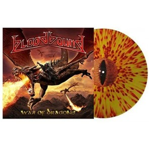 WAR OF DRAGONS Gtf. Clear Yellow-Red Splatter Vinyl