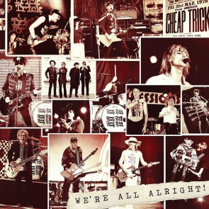 WE'RE ALL ALRIGHT LP