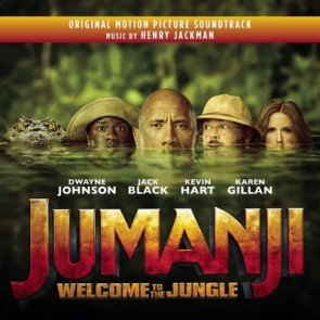 JUMANJI: WELCOME TO THE JUNGLE BY HENRY JACKMAN(CD)