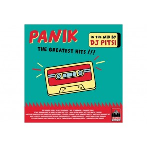 PANIK THE GREATEST HITS. IN THE MIX BY DJ PITSI CD