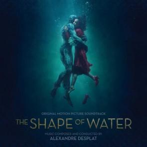 THE SHAPE OF WATER BY ALEXADRE DESPLAT CD