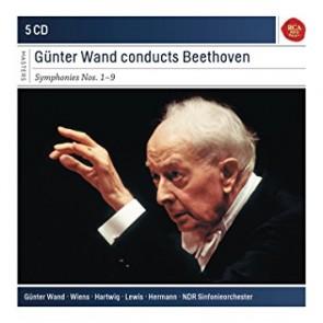 GUNTER WAND CONDUCTS BEETHOVEN SYMPHONIES 1-9 (5CD)