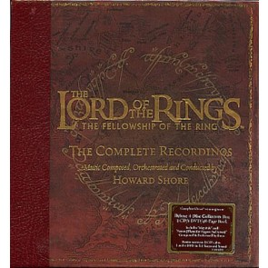 THE LORD OF THE RINGS: THE FELLOWSHIP OF THE RING: THE COMPLETE RECORDINGS 4CD