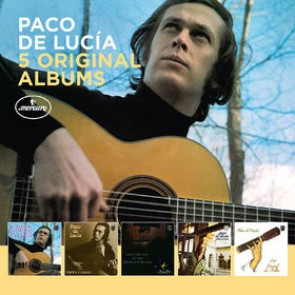 5 ORIGINAL ALBUMS (El Duende Flamenco De Paco De Lucia/Fuente Y Caudal / En Vivo desde el teatro)CD