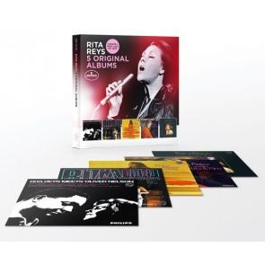 5 ORIGINAL ALBUMS (Meets Oliver Nelson/Rita A Go-go /Rita Reys Today /Relax With Rita & Pim /Sing)CD