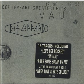 VAULT:DEF LEPPARD GREATES 2LP