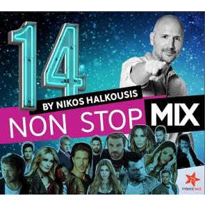 NON STOP MIX BY NIKOS HALKOUSIS VOL.14 CD