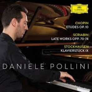 CHOPIN:ETUDES OP. 10;SCRIABIN LATE WORKS CD