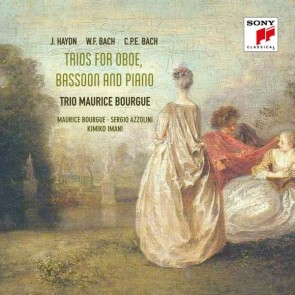 HAYDN, W.F. BACH & C.P.E. BACH: TRIOS FOR OBOE, BASSOON & PIANO (2CD)