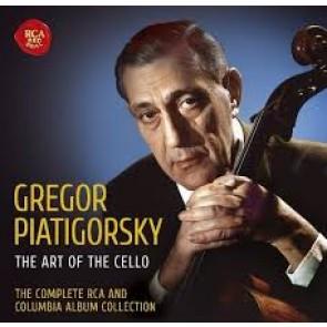 GREGOR PIATIGORSKY - THE COMPLETE RCA AND COLUMBIA ALBUM COLLECTION (36CD)