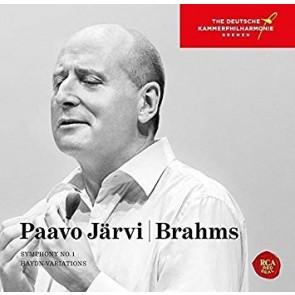 BRAHMS: SYMPHONY NO. 1 & HAYDN VARIATIONS (CD)