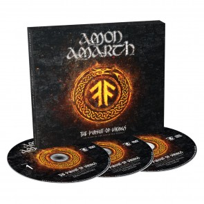 THE PURSUIT OF VIKINGS: 25 YEARS IN THE EYE OF THE STORM (CD + 2DVD)