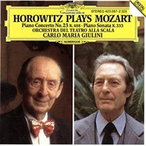 HOROWITZ PLAYS MOZART LP