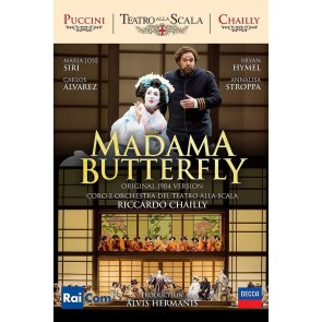 PUCCINI: MADAMA BUTTERFLY DVD