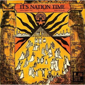 IT'S NATION TIME - AFRICAN LP