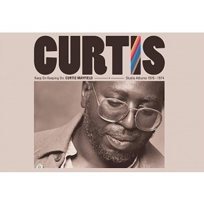 KEEP ON KEEPING ON: CURTIS MAYFIELD STUDIO ALBUMS 1970-1974 (4CD)