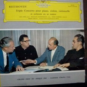 BEETHOVEN: TRIPLE CONCERTO LP