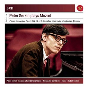 PETER SERKIN PLAYS MOZART (6CD)