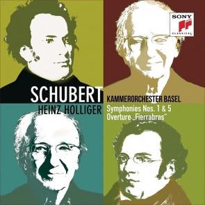 SCHUBERT: SYMPHONIES NOS. 1 & 5, FIERABRAS OVERTURE (CD)