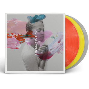 I AM EASY TO FIND (RED / YELLOW / GREY LP )
