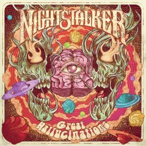 GREAT HALLUCINATIONS GREEN LP