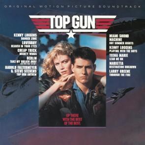 TOP GUN - MOTION PICTURE SOUNDTRACK BLUE LP